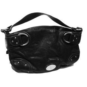 Vintage leather Bally Hand Bag / Purse